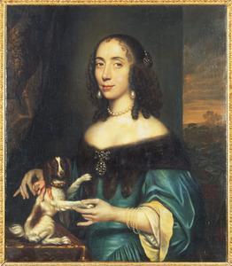 Portret van Margaretha Huyssen (1632-1710)