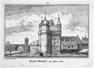 De Oude Oosterpoort te Hoorn in het jaar 1620