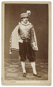Portret van Peter Antoni Nicolaus Stephanus van Meurs (1860-1921) als Cornelis Huygen Reael