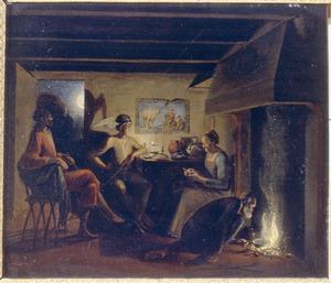 Jupiter en Hermes bij Philemon en Baucis [Ovidius 8: 611-724]