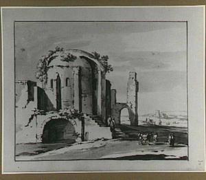 Tempel van Minerva Medica in Rome