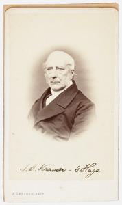 Portret van Jan Aikes Kramer (1802-1873)