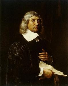 Portret van Nicolaas de Bye (1610-1675)