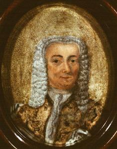 Portret van Dirk de Ridder (1714-1755)