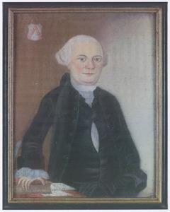 Portret van Johannes Diederik van Leeuwen (1737-1817)