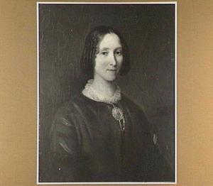 Portret van mw. Alida Terlet, hospita van de schilder te Amsterdam