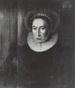 Portret van Frouckje van Goslinga (...-1616)