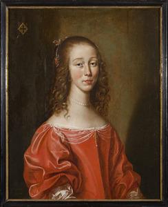 Portret van een onbekende vrouw uit het geslacht Bentinck
