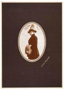 Portret van Frederika Wilhelmina Muijen