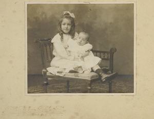 Portret van Suzette Amelia Henriette van Beresteyn en Christiaan Johannes van Beresteyn