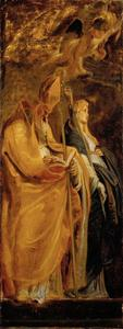 Heilige Amandus en  Walburga