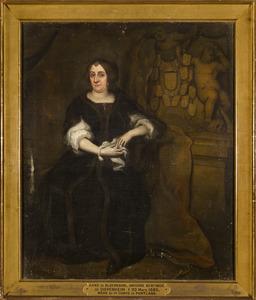 Portret van Anna van Bloemendaal (1622-1685)