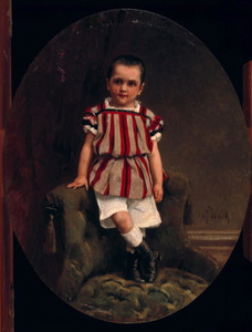 Portret van C.A.J.C. Spillenaer (1863-1869)