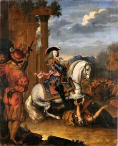 Ruiterportret van Joseph von Habsburg