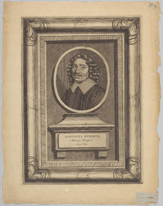 Portret van Albertus Kyperus (....-1655)