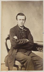 Portret van een man genaamd Ruetiers
