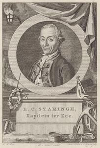 Portret van Everard Christiaan Staring (1739-1813)