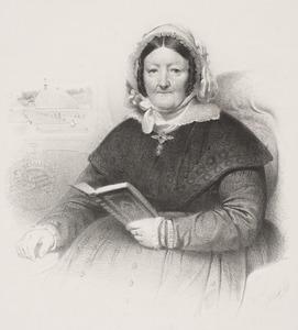Portret van Woltera Geertruida van Pallandt (1779-1850)