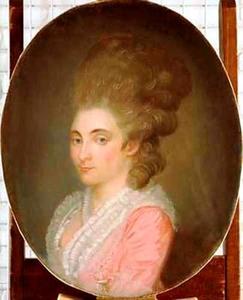 Portret van Margaretha Johanna Munter (1752-1803)