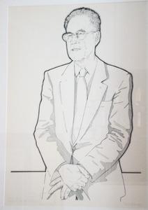 Portret B.M. Lensink