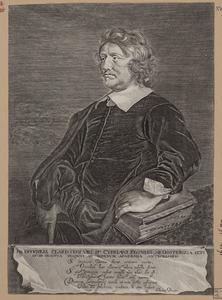 Portret van Cyprianus Regnerus ab Oosterga (1614-1687)