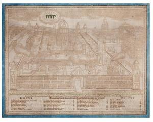 De tempel en het paleis van koning Salomo