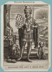 Portret van Jan IV van Brabant (1403-1427)