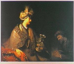 Jozef confronteert Juda met de in Benjamins bagage gevonden zilveren drinkbokaal (Genesis  44:18-34)