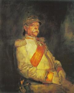 Portret van Otto Fürst von Bismarck-Schönhausen