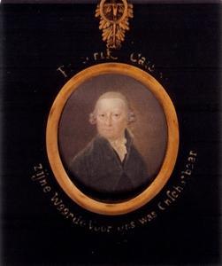 Portret van Frederik Cats (?-1814)