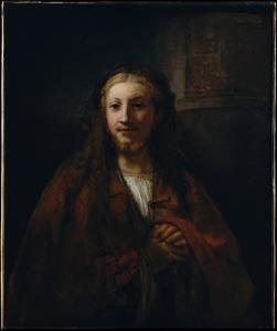 Christus met een staf