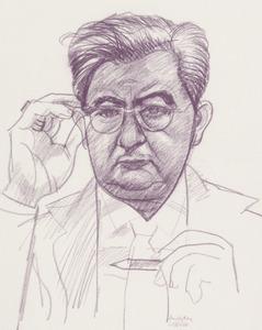 Portret van Jozef Ferdinand Doeve (1907-1981)