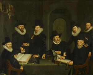 Regenten van het Binnengasthuis te Amsterdam, 1617