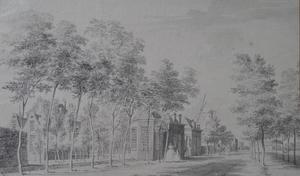 De buitenplaats Rustenburg bij Schiedam