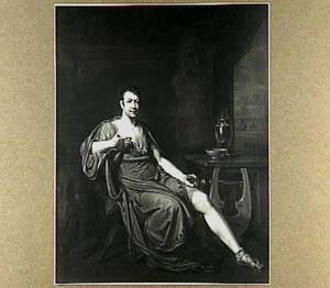 Portret van Andries Snoek (1766-1829) in het karakter van Achilles