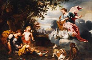 Venus vindt de dode Adonis