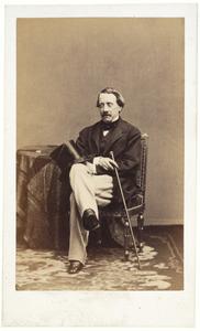 Portret van Frederik Lodewijk Willem de Kock (1818-1881)
