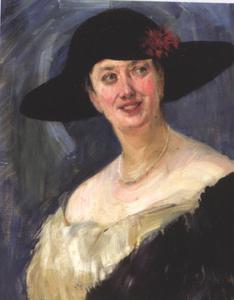 Portret van Lou Coper
