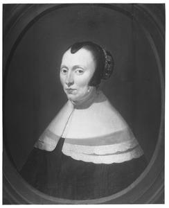 Portret van Agneta van Dulcken (1606-1671)