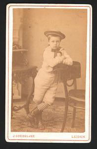 Portret van J. de Goeje