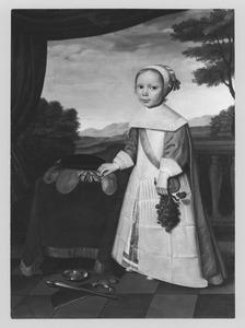 Portret van een kind, waarchijnlijk Johannes van Rees (1662-1690)