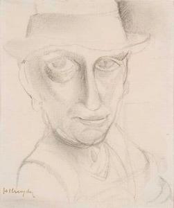 Portret van Herman Justus Kruyder (1881-1935)
