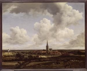 Weids landschap met gezicht op Ootmarsum vanaf de Kuiperberg