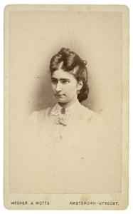 Portret van Anna Thissen Schmasen