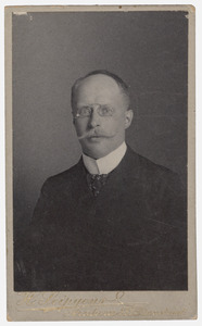 Portret van Willem de Vries (1865-1935)