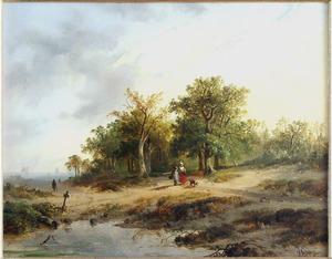 Landschap bij de Oortberg