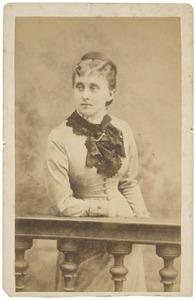 Portret van Adriana Jacqueline Marie Loudon (1856-1919)