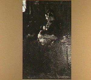 Hierdense vrouw met kind