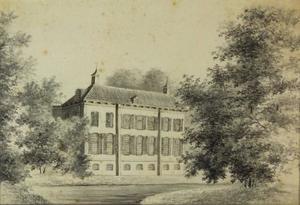 Het huis Watervliet te Velsen