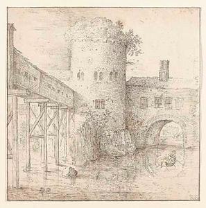Fortificaties met een houten burg